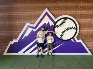 Ben g attended Colorado Rockies vs. San Diego Padres - MLB on Jun 14th 2021 via VetTix
