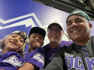Christine attended Colorado Rockies vs. San Diego Padres - MLB on Jun 14th 2021 via VetTix