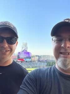 Rich attended Colorado Rockies vs. San Diego Padres - MLB on Jun 14th 2021 via VetTix