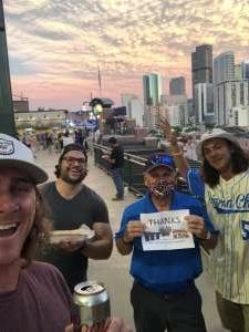 Tom attended Colorado Rockies vs. San Diego Padres - MLB on Jun 14th 2021 via VetTix