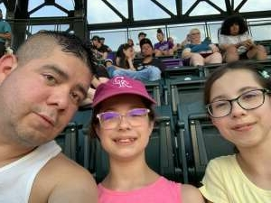 Joe H8 attended Colorado Rockies vs. San Diego Padres - MLB on Jun 14th 2021 via VetTix