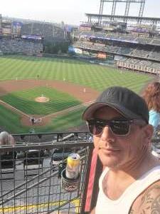 Pete T. attended Colorado Rockies vs. San Diego Padres on Jun 15th 2021 via VetTix