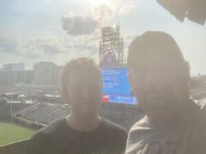 Jerry attended Colorado Rockies vs. San Diego Padres on Jun 15th 2021 via VetTix