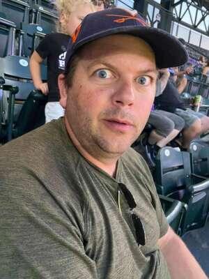 Scott attended Colorado Rockies vs. San Diego Padres on Jun 15th 2021 via VetTix