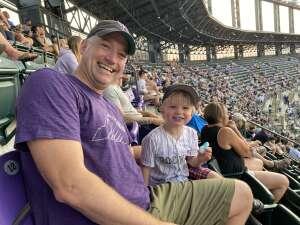 RJ attended Colorado Rockies vs. San Diego Padres on Jun 15th 2021 via VetTix