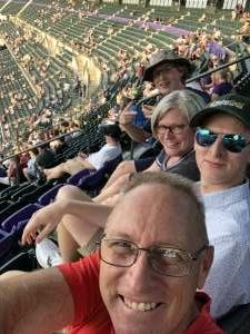 MDS attended Colorado Rockies vs. San Diego Padres on Jun 15th 2021 via VetTix