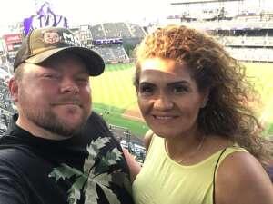 Charles Noonan attended Colorado Rockies vs. San Diego Padres on Jun 15th 2021 via VetTix