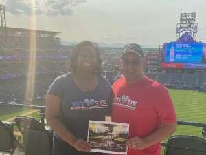 Shannon attended Colorado Rockies vs. San Diego Padres on Jun 15th 2021 via VetTix