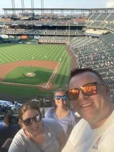 JaVan attended Colorado Rockies vs. San Diego Padres on Jun 15th 2021 via VetTix