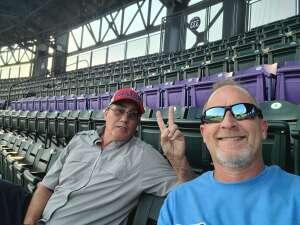 Jeff attended Colorado Rockies vs. San Diego Padres on Jun 15th 2021 via VetTix