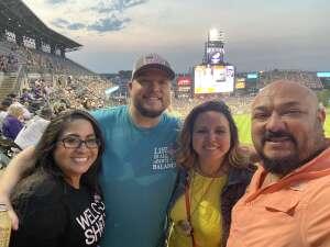 Diego attended Colorado Rockies vs. San Diego Padres on Jun 15th 2021 via VetTix