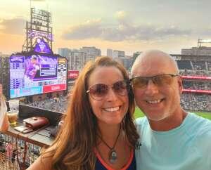 Cyndi attended Colorado Rockies vs. San Diego Padres on Jun 15th 2021 via VetTix