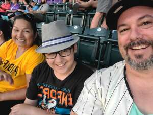 Geoff T attended Colorado Rockies vs. San Diego Padres on Jun 15th 2021 via VetTix