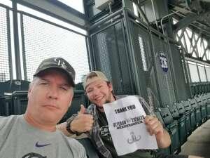 Patrick  attended Colorado Rockies vs. San Diego Padres on Jun 16th 2021 via VetTix