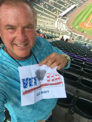 Navy H46 attended Colorado Rockies vs. San Diego Padres on Jun 16th 2021 via VetTix