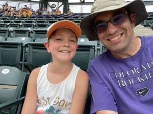 Jason attended Colorado Rockies vs. San Diego Padres on Jun 16th 2021 via VetTix