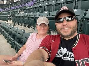 Austin attended Colorado Rockies vs. Milwaukee Brewers - MLB on Jun 17th 2021 via VetTix