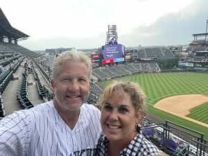 Scott attended Colorado Rockies vs. Milwaukee Brewers - MLB on Jun 17th 2021 via VetTix