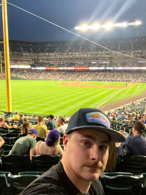 Brett attended Colorado Rockies vs. Milwaukee Brewers - MLB on Jun 17th 2021 via VetTix