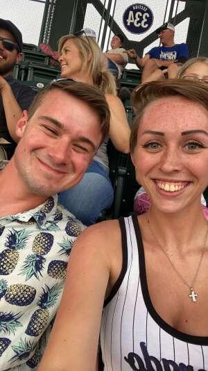 Lexi attended Colorado Rockies vs. Milwaukee Brewers - MLB on Jun 17th 2021 via VetTix