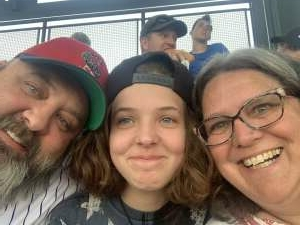 Jesse L. attended Colorado Rockies vs. Milwaukee Brewers - MLB on Jun 17th 2021 via VetTix