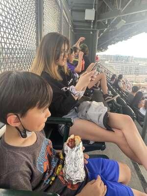 Sami attended Colorado Rockies vs. Milwaukee Brewers - MLB on Jun 17th 2021 via VetTix