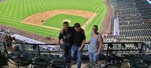 Schuck Family  attended Colorado Rockies vs. Milwaukee Brewers - MLB on Jun 17th 2021 via VetTix