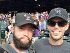 SgtFish  attended Colorado Rockies vs. Milwaukee Brewers - MLB on Jun 17th 2021 via VetTix