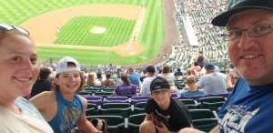 Mark attended Colorado Rockies vs. Milwaukee Brewers - MLB on Jun 17th 2021 via VetTix