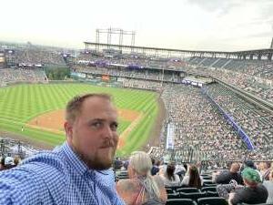 LH attended Colorado Rockies vs. Milwaukee Brewers - MLB on Jun 17th 2021 via VetTix