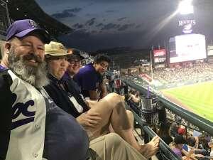 Volleyrush attended Colorado Rockies vs. Milwaukee Brewers - MLB on Jun 17th 2021 via VetTix