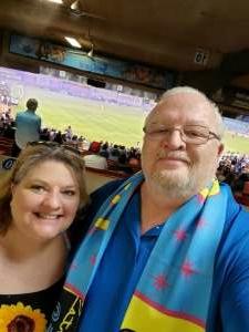 Eric and Alicia  attended Las Vegas Lights FC vs. San Antonio FC - USL on Jun 11th 2021 via VetTix
