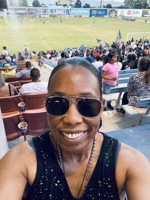 Mel attended Las Vegas Lights FC vs. San Antonio FC - USL on Jun 11th 2021 via VetTix