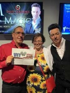 Lou attended M is for MAGIC on Jul 3rd 2021 via VetTix