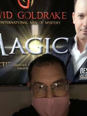Theo attended M is for MAGIC on Jul 3rd 2021 via VetTix