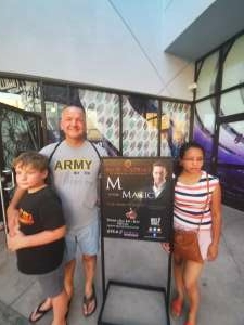 Don attended M is for MAGIC on Jun 19th 2021 via VetTix