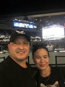 Raymond attended Phoenix Mercury vs. Dallas Wings - WNBA on Jun 11th 2021 via VetTix