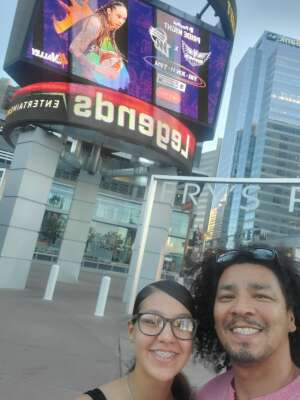 Manny G attended Phoenix Mercury vs. Dallas Wings - WNBA on Jun 11th 2021 via VetTix