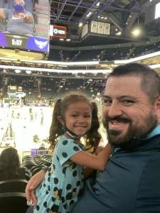 Billy Sandoval attended Phoenix Mercury vs. Dallas Wings - WNBA on Jun 11th 2021 via VetTix