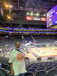 Mary attended Phoenix Mercury vs. Dallas Wings - WNBA on Jun 11th 2021 via VetTix