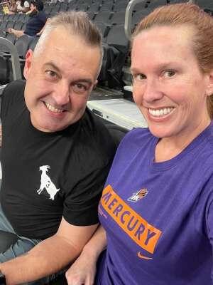 Watson attended Phoenix Mercury vs. Dallas Wings - WNBA on Jun 11th 2021 via VetTix
