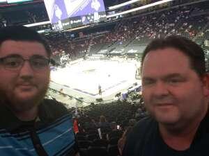 Eric Mescall  attended Phoenix Mercury vs. New York Liberty - WNBA on Jun 13th 2021 via VetTix