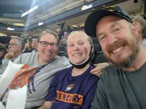 Shelly attended Phoenix Mercury vs. New York Liberty - WNBA on Jun 13th 2021 via VetTix