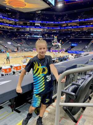 Johnson attended Phoenix Mercury vs. New York Liberty - WNBA on Jun 13th 2021 via VetTix