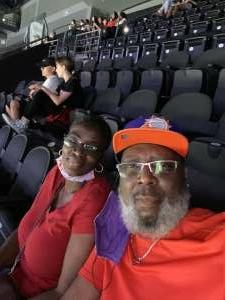 M Hill attended Phoenix Mercury vs. New York Liberty - WNBA on Jun 13th 2021 via VetTix