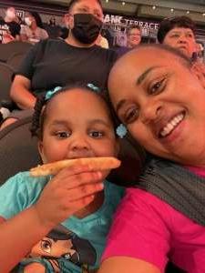Finch attended Phoenix Mercury vs. New York Liberty - WNBA on Jun 13th 2021 via VetTix