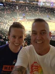 Brent Watson attended Phoenix Mercury vs. New York Liberty - WNBA on Jun 13th 2021 via VetTix