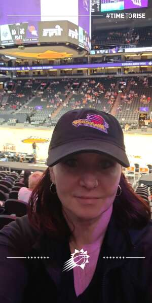Ingrid⁰ attended Phoenix Mercury vs. New York Liberty - WNBA on Jun 13th 2021 via VetTix