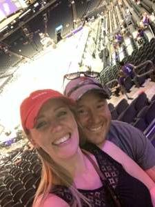 Jarrad Spinner attended Phoenix Mercury vs. New York Liberty - WNBA on Jun 13th 2021 via VetTix