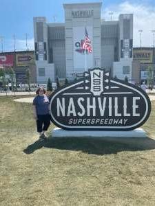 Clark attended Ally 400 - NASCAR Cup Series Race - KB100 - Kurt Busch Fan Appreciation Tickets on Jun 20th 2021 via VetTix